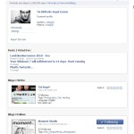 Networked blogs on Facebook
