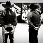 The Coolest cowboys around, they looked very interested in the photos..