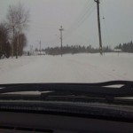 And more snow road